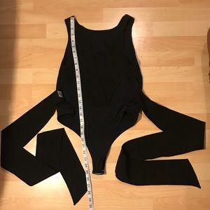 SJP by Sarah Jessica Parker bow back bodysuit